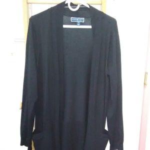 Karen Scott Open Front Cardigan Sweater XL (USED)